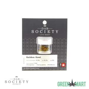 Dab Society Extracts - Golden Goat Live Resin