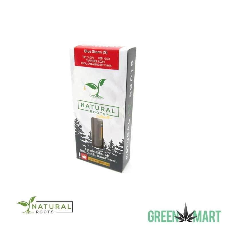 Natural Roots Extracts Cartridge - Blue Storm