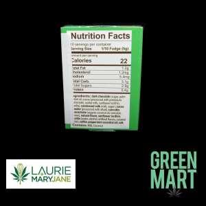 Laurie + MaryJane Fudge Yourself - Chocolate Mint One:One Fudge Ingredients