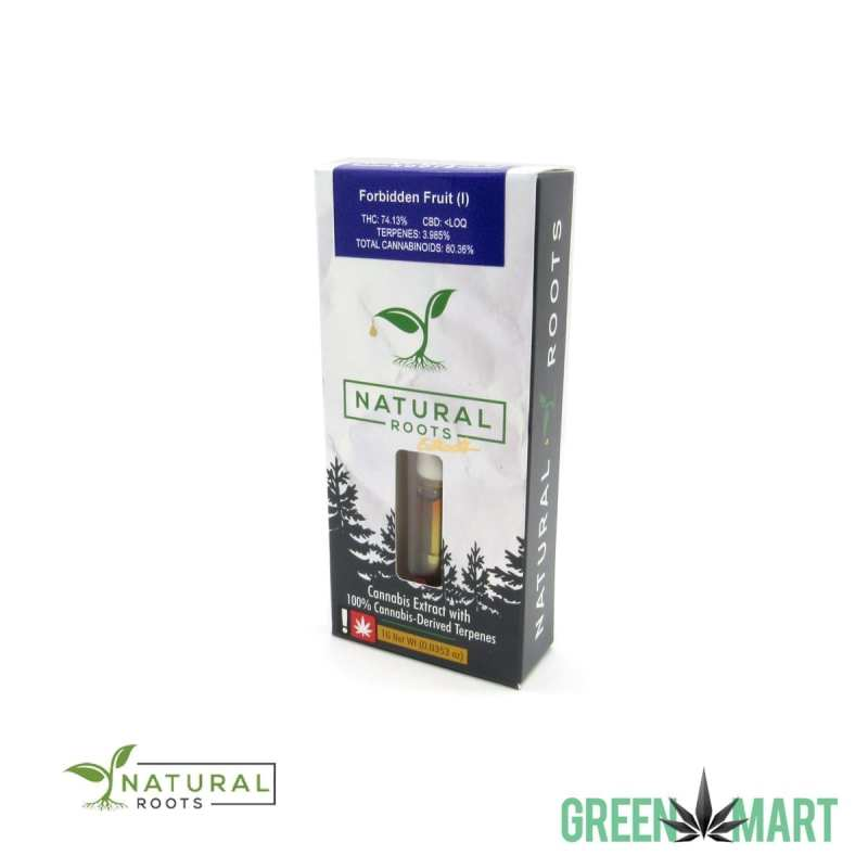 Natural Roots Extracts Cartridge - Forbidden Fruit 1g