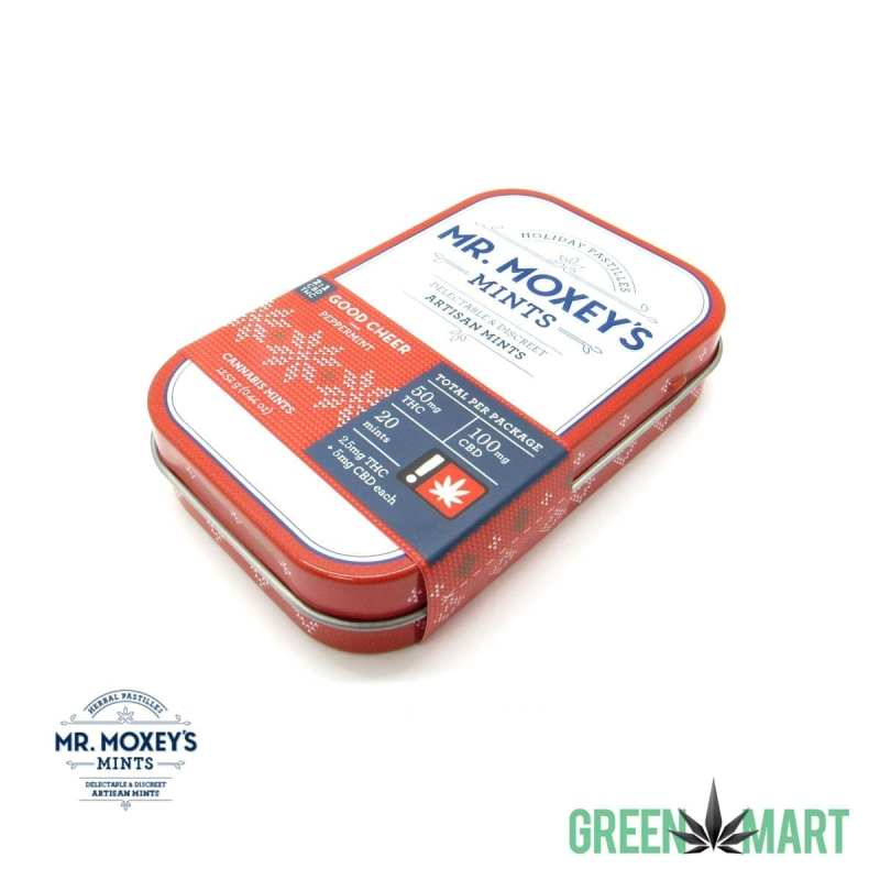 Mr. Moxey's Mints - Good Cheer Peppermint 2:1