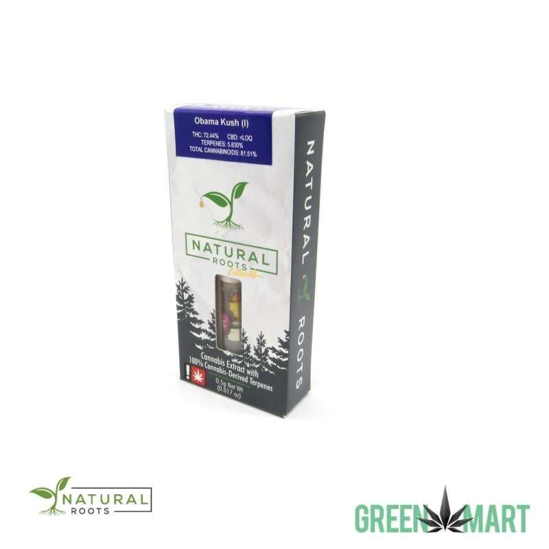 Natural Roots Extracts Cartridge - Obama Kush Half G