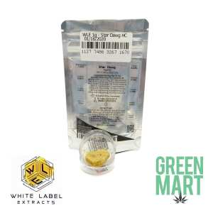 White Label Extracts - StarDawg Honeycomb Terps