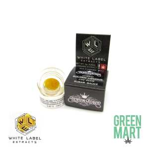 White Label Extracts - Golden Lemons Live Resin Sugar Sauce