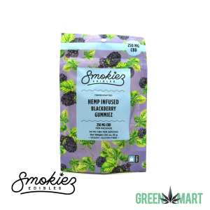 Smokiez Edibles - New Blackberry CBD