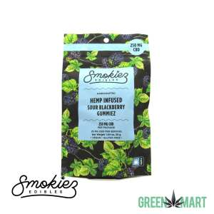 Smokiez Edibles - New Sour Blackberry CBD