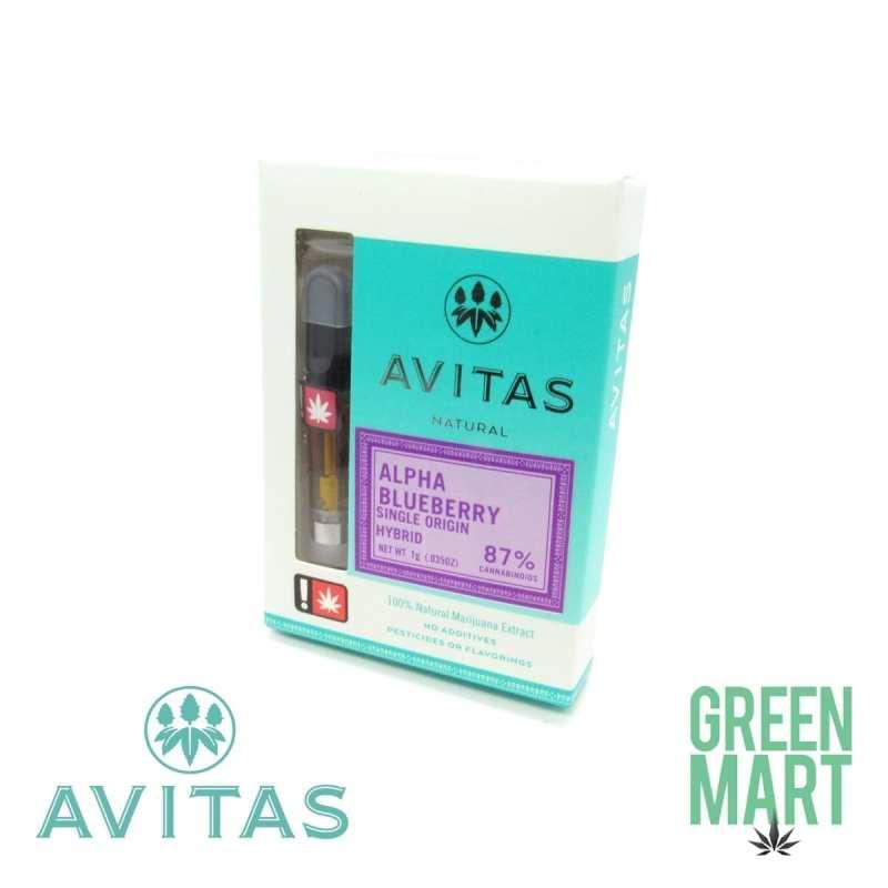 Avitas Co2 Cartridge - Alpha Blueberry 1g