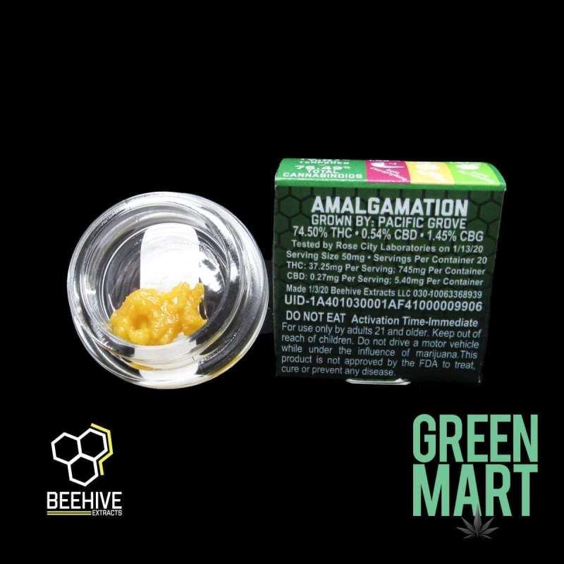 Beehive Extracts - Amalgamation Back