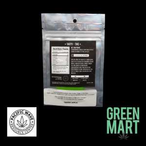 Pacific Wave Edibles - THC Taffy - Green Apple