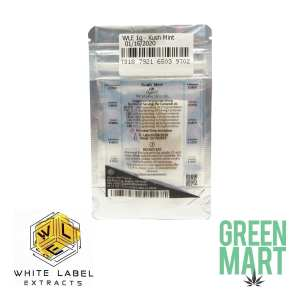 White Label Extracts - Kush Mint Back