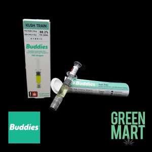Buddies Brand Distillate Dripper - Kush Train
