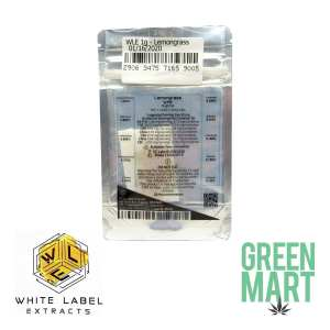 White Label Extracts - Lemongrass Back