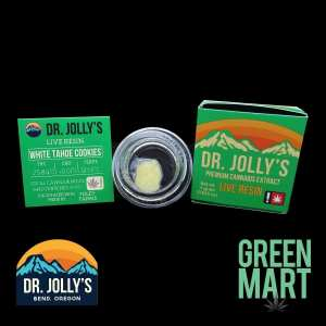 Dr. Jolly's - White Tahoe Cookies Front