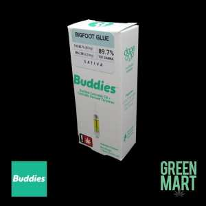 Buddies Brand Distillate Cartridges - Big Foot Front