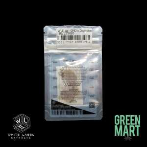 White Label Extracts - GMO x Dogwalker Back
