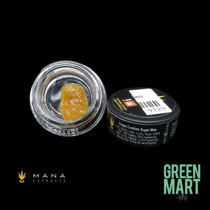 Mana Extracts - Grape Cookies Sugar Wax