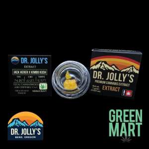 Dr. Jolly's Extracts - Jack Herer x Kimbo Kush Front