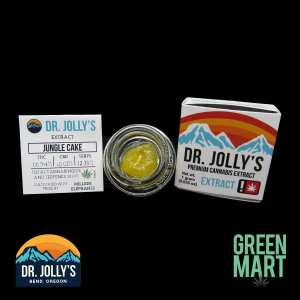 Dr. Jolly's Extracts - Jungle Cake Front