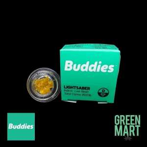 Buddies Brand Live Resin - Lightsaber Front