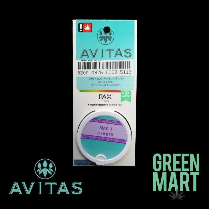 Avitas Pax Pod - Mac 1 Front