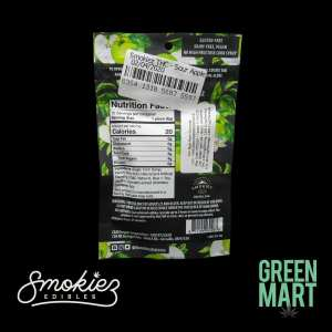 Smokiez Edibles - Sour Gummiez - Green Apple Back