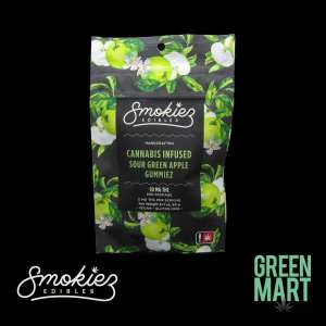 Smokiez Edibles - Sour Gummiez - Green Apple Front