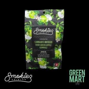 Smokiez Edibles - Sour Gummiez - Green Apple Front