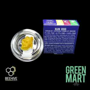 Beehive Extracts - Sun Dog Back