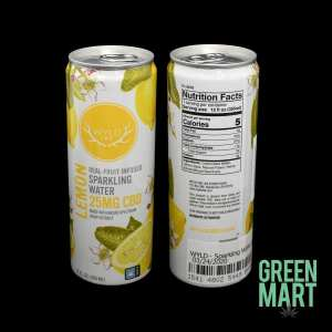 Wyld CBD Sparkling Water - Lemon