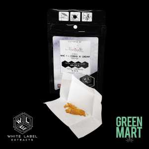 White Label Extracts - Mac 1 x Cooks N Cream Shatter