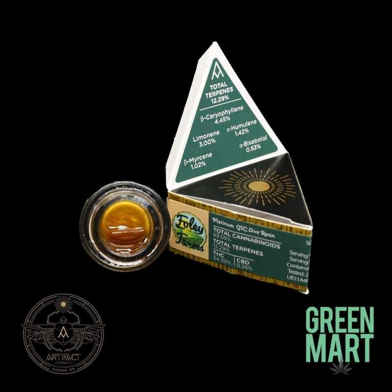 Artifact Extracts - Platinum GSC LiveResin
