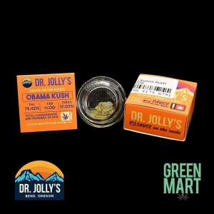 Dr. Jolly's Extracts - Obama Kush Front