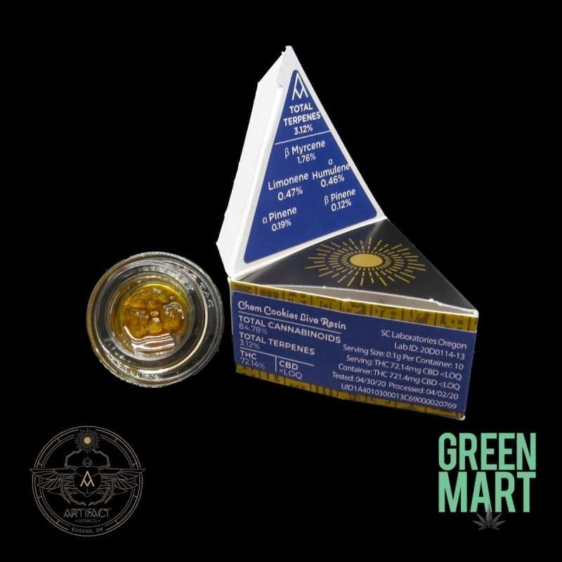 Artifact Extracts - Chem Cookies Live Resin
