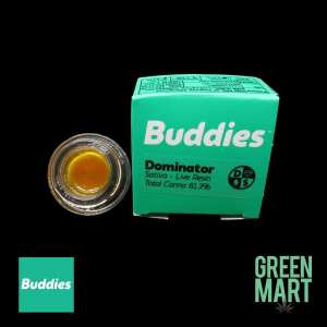 Buddies Brand - Dominator Live Resin Front