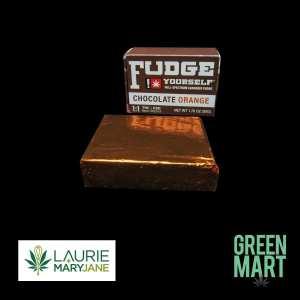 Fudge Yourself - Chocolate Orange Front