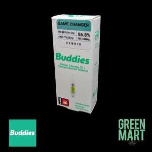 Buddies Brand Distillate Cartridges - Game Changer