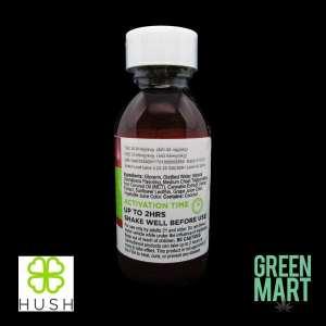 Hush Sizzurp 1:1 CBD:THC 1000MG Tincture - Pineapple Passion Ingredients
