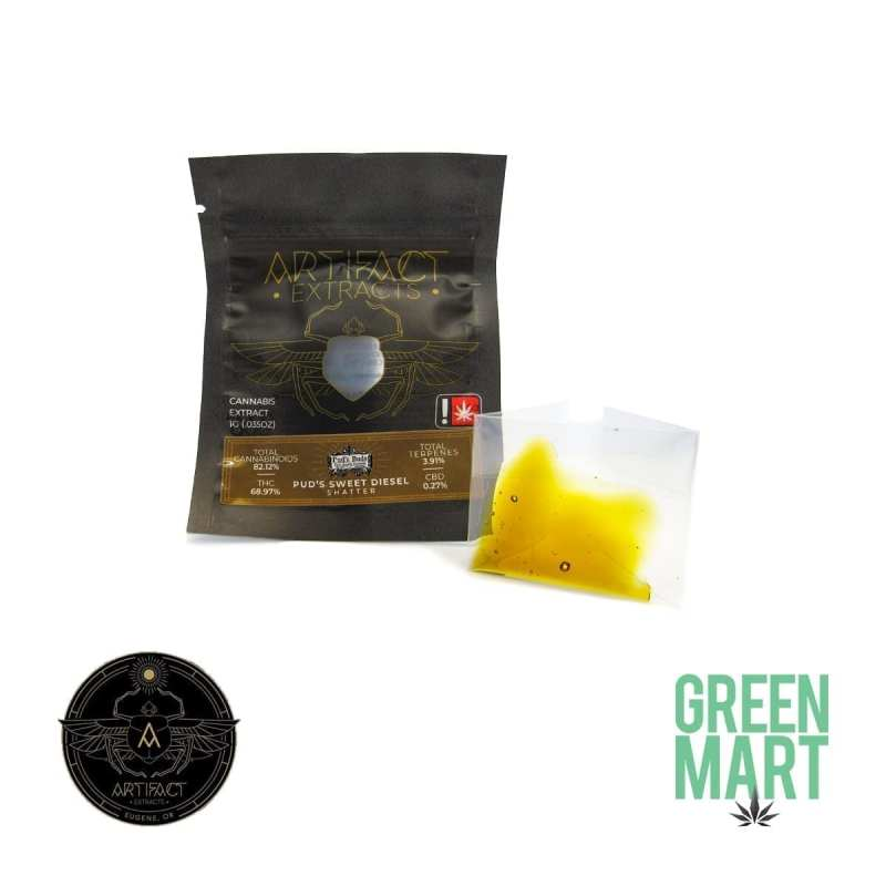 Artifact Extracts Puds Sweet Diesel Shatter
