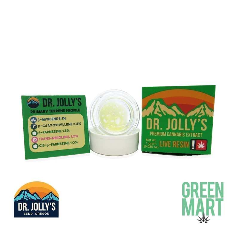 Dr. Jolly's Extracts - Blue City Diesel Live Resin