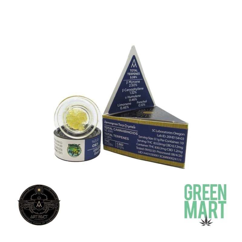 Artifact Extracts - Lemongrass Terp Crystals