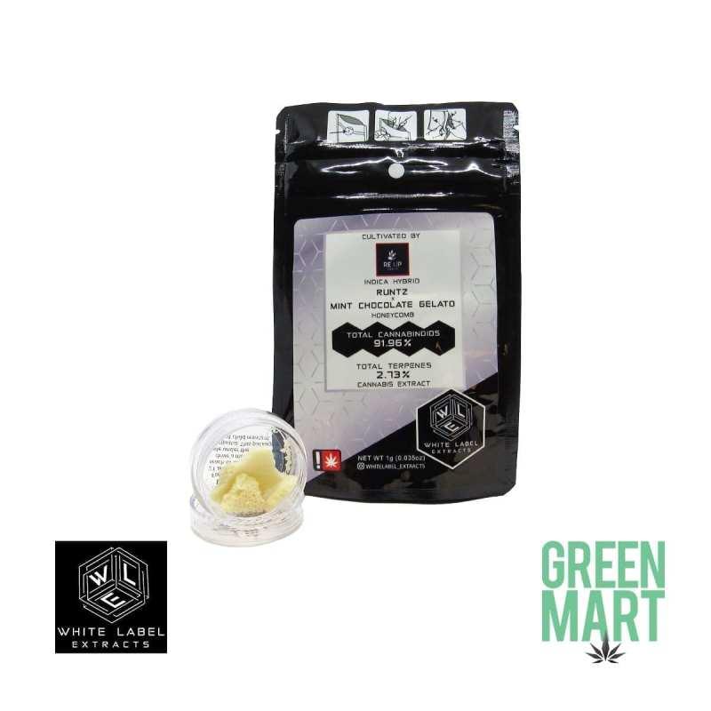 White Label Extracts - Runtz X Mint Chocolate Gelato Honeycomb