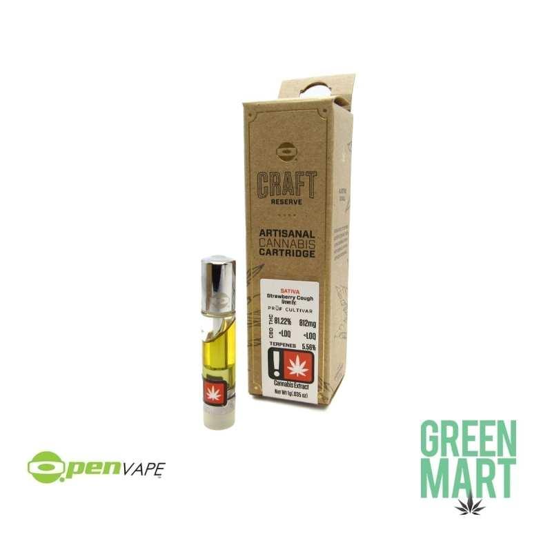 O.Pen Craft Reserve Cartridge - Strawberry Cough