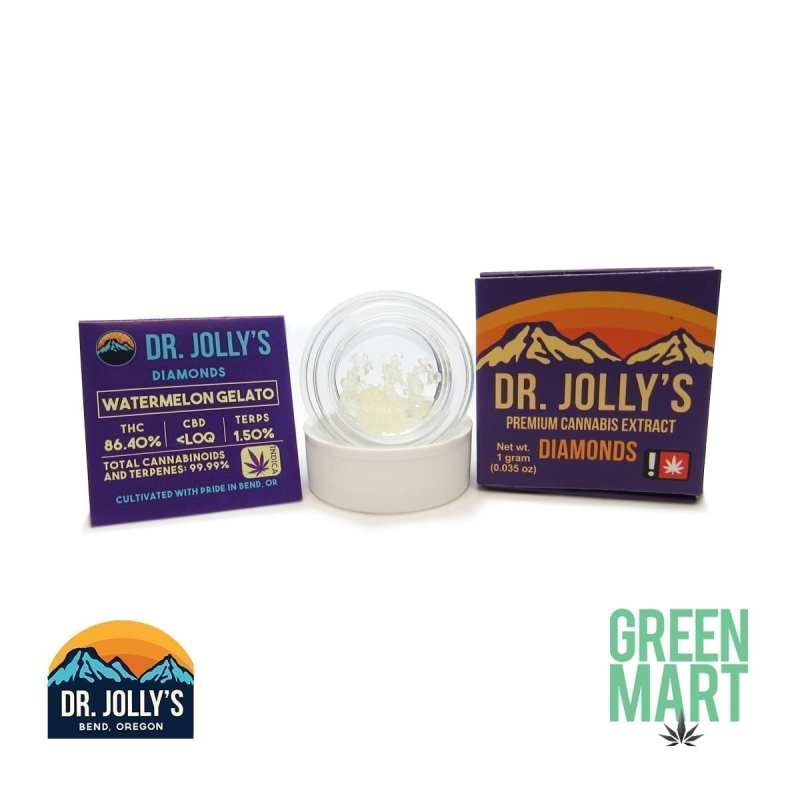 Dr. Jolly's Extracts - Watermelon Gelato Diamonds