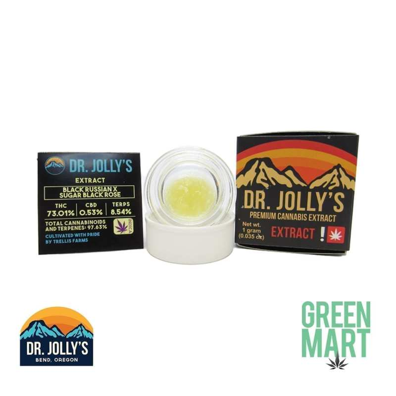 Dr. Jolly's Extracts - Black Russian X Sugar Black Rose