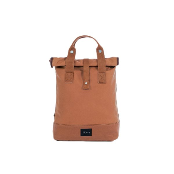 Sacoche City Backpack by Weather Goods Sweden cognac