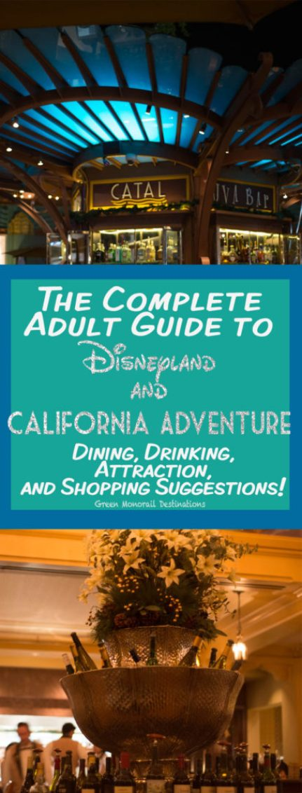 Complete Adult Guide to Disneyland and California Adventure | Dining, Drinking, Attraction, and Shopping Suggestions!