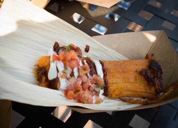 Beef Corn Tamale | Green Monorail Destinations
