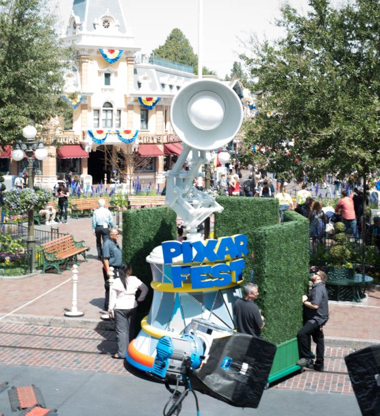 Luxo Lamp Pixar Fest Disneyland