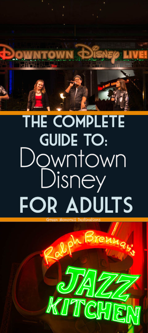 Downtown Disney is the best place to visit the minute you land in Anaheim. There's no cost of admission and there are plenty of options for food, drink, shopping. It's basically a big party and bustling with street performers. Make it a date night or night out with buds! #disneyland #downtowndisney #datenight #girlsnightout #nightlife