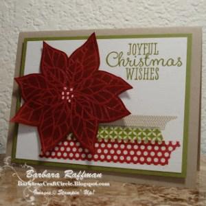Joyful Christmas Stamp Set – Stamp-a-Stack Card
